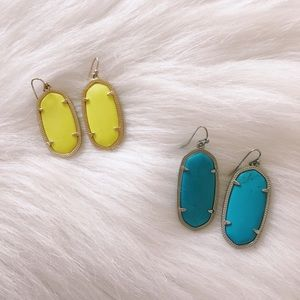 Kendra Scott Earring Set (with jewelry bag)